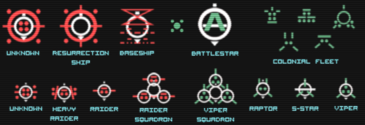Dradis icons