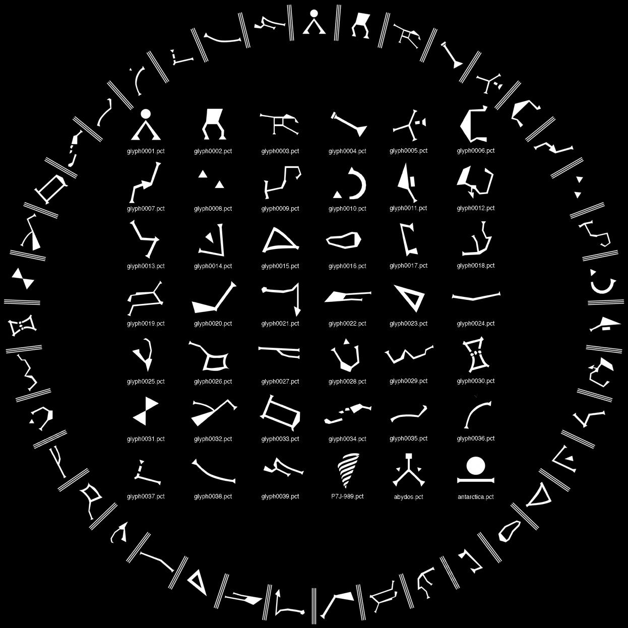 Stargate Symbols » Stargate Ref...