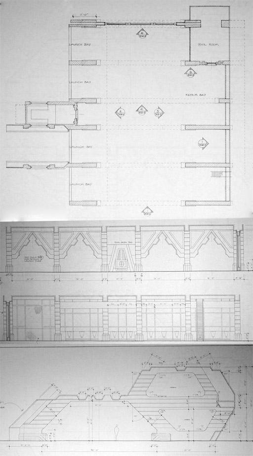 Hangar Bay Battlestar Galactica Diagrams